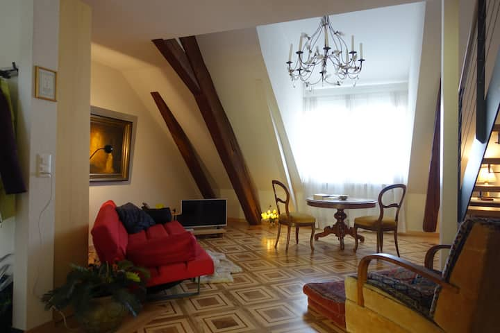 Elegant pied-a-terre in historic Olten