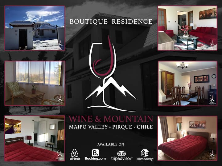 Wine & Mountain - Boutique Hotel - Pirque - Chile