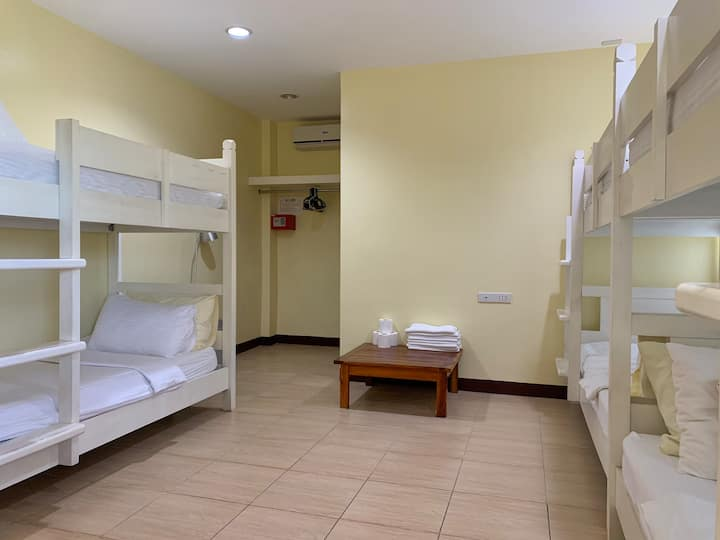 1B (Female Dormitory, 3bunk beds, good for 6women)