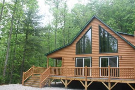 Secluded Mountain Cabin in the Woods - Robbinsville