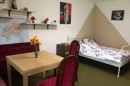 Großes Zimmer mit Garten - Neckarsteinach