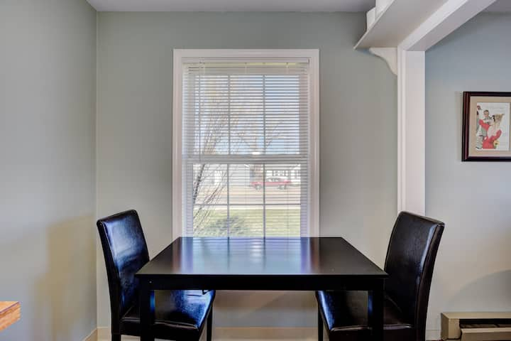 Quaint North End 1bd perfect for short/long Stays
