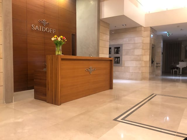 SAIDOFF LUXURY RESIDENCE- PRIME LOCATION-POOL-GYM