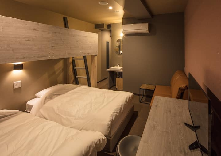 Triple room in the heart of Kanazawa