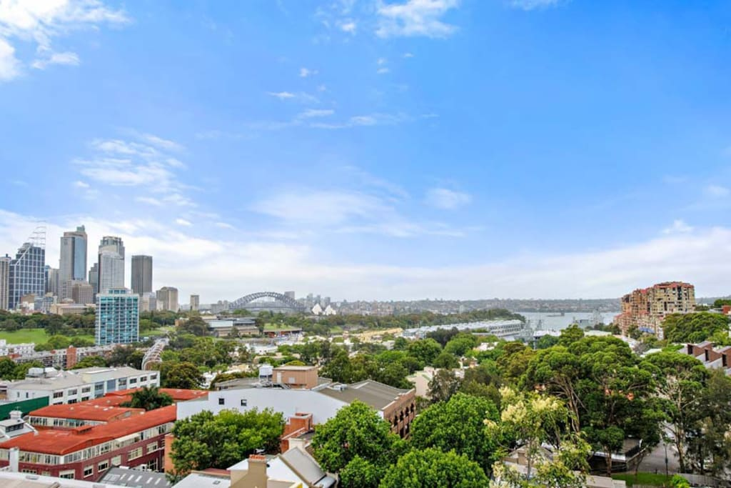 Darlinghurst apartment Harbour View