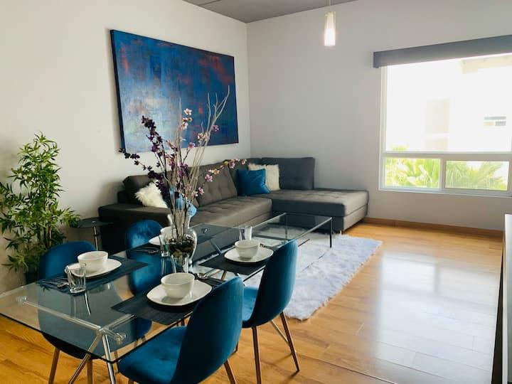 Moderno y cómodo departamento en Monterrey