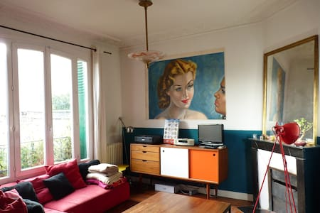 Beautiful room at the southern edge of Paris - Gentilly
