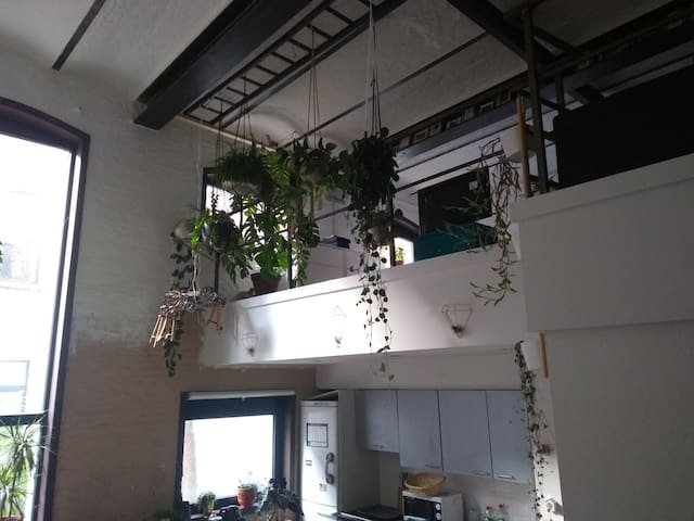 lovely industrial loft