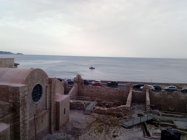 Heraklion sea view apartment
