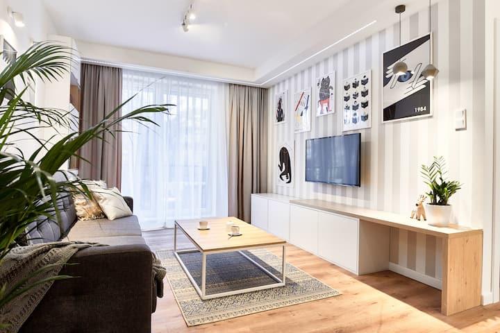 Beautifull 1 bedroom apt in the center.