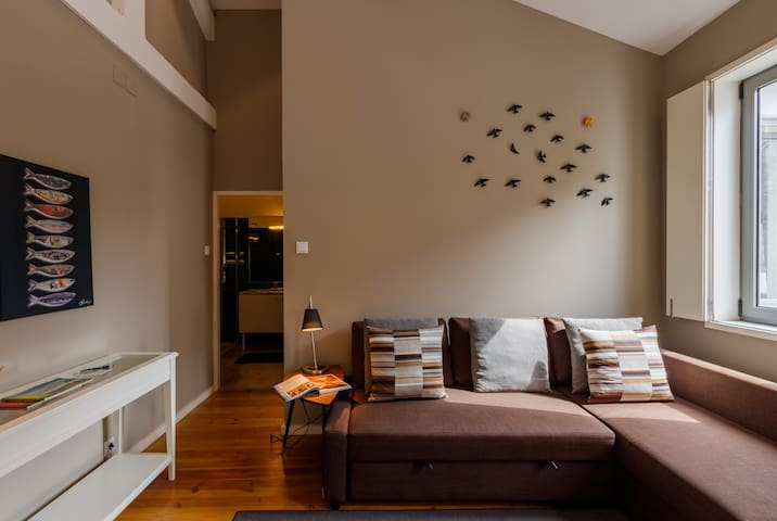 Sofa cama, Sala de Estar