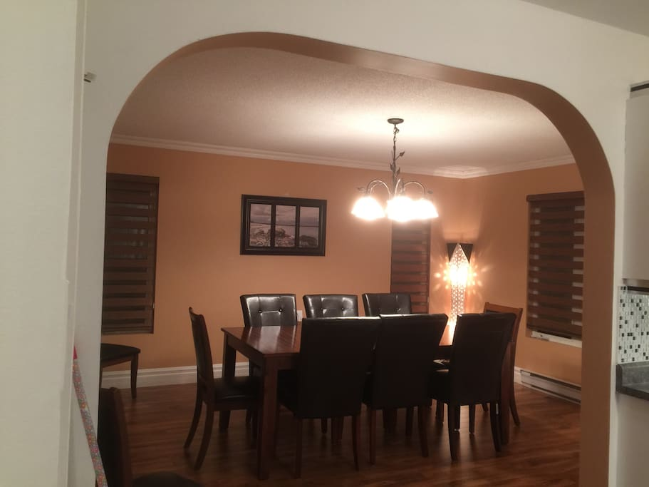 Formal Dining Room available to accomodate 8 people