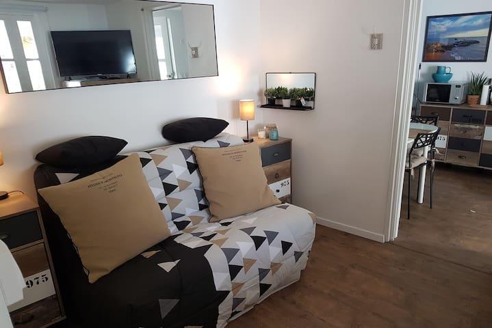 chambre lit-canapé