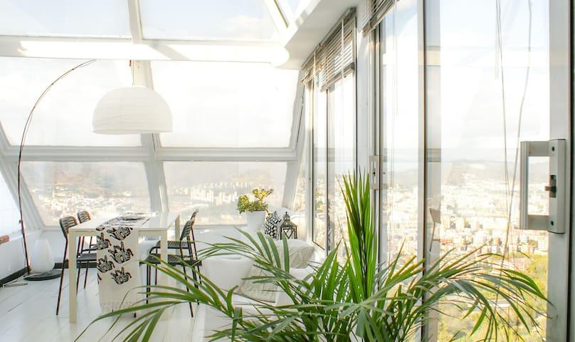 Panoramic Love Nest Barcelona - Barcelona - Rumah