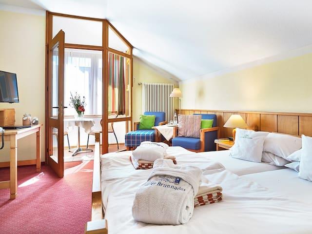 """Hotel """"An der Brunnader"""" garni (Bad Birnbach), Doppelzimmer mit Loggia"""
