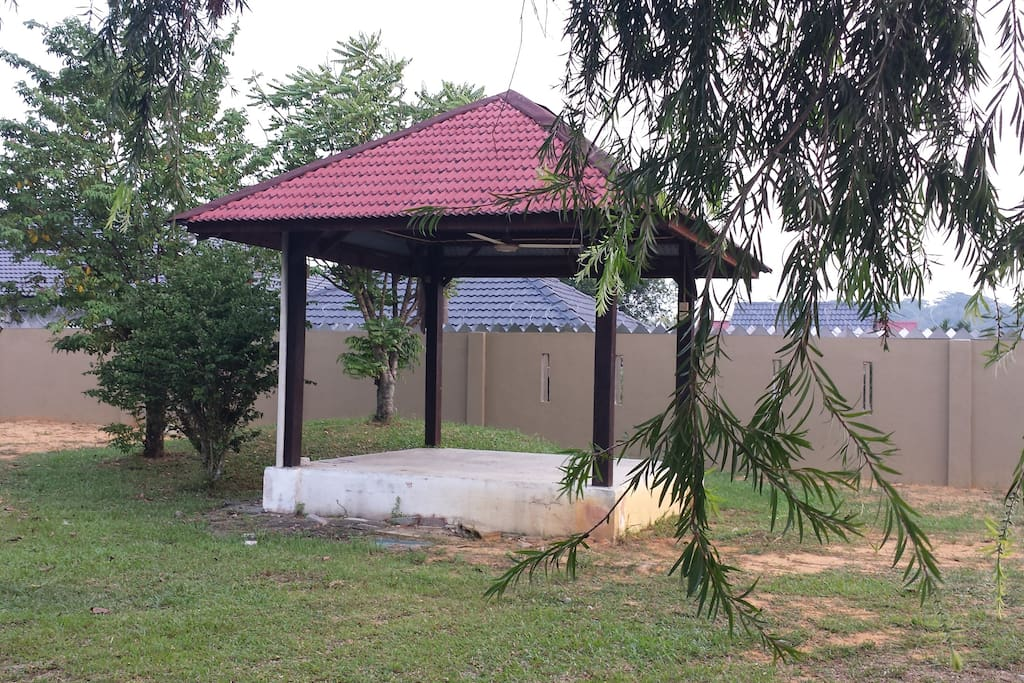 Nice gazebo for your outdoor bbq party