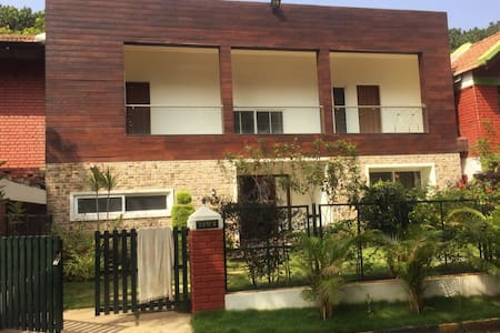Beautiful villa in jade garden Bangalore airport