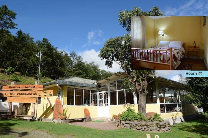 Reserva Madrigal Del Podocarpus-Entire House - Loja