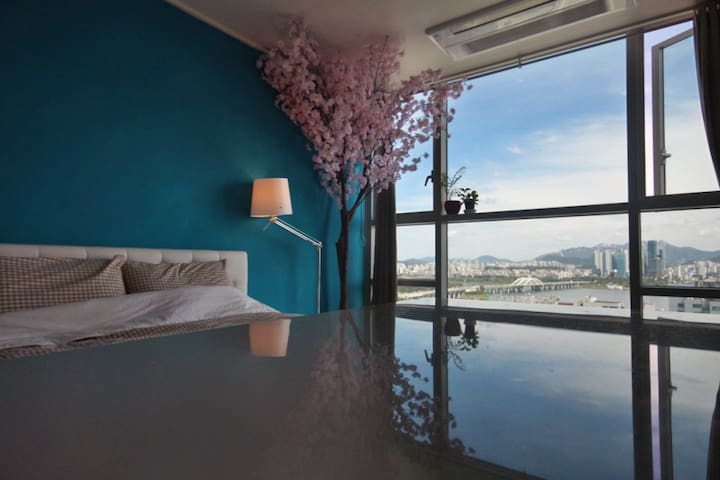 A nest next cherryblossom tree & River view - Yeongdeungpo-gu - Guesthouse