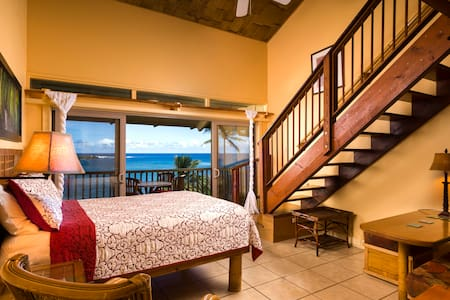 #202 Alau - Hana Kai Maui Ocean View Lofted Studio