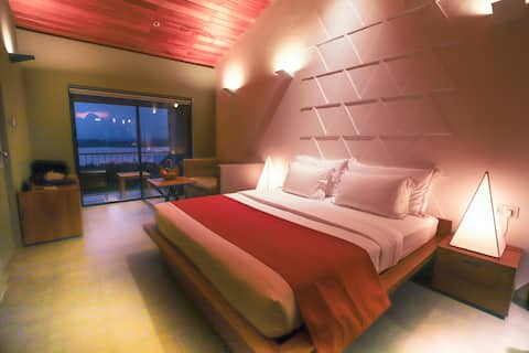 Deluxe Double Room With Chillout Balcony 50 % OFF