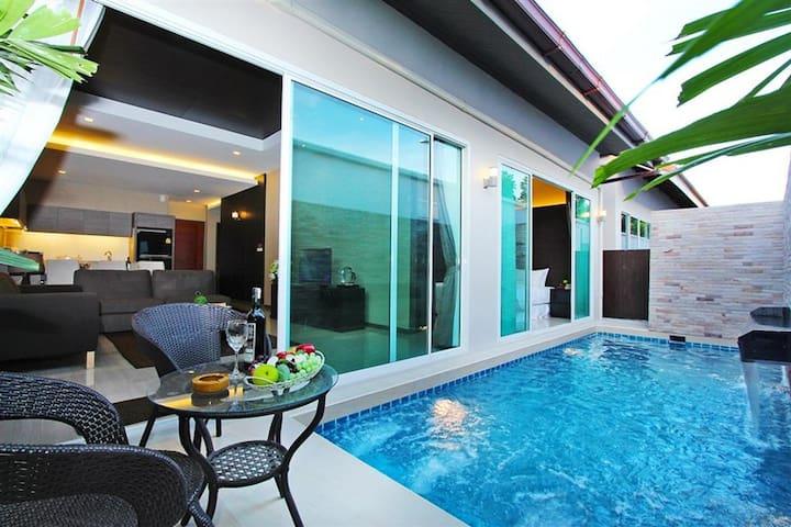 Private Pool Villa @Jomtien [3BD/2BH 6-8 Pax WIFI]