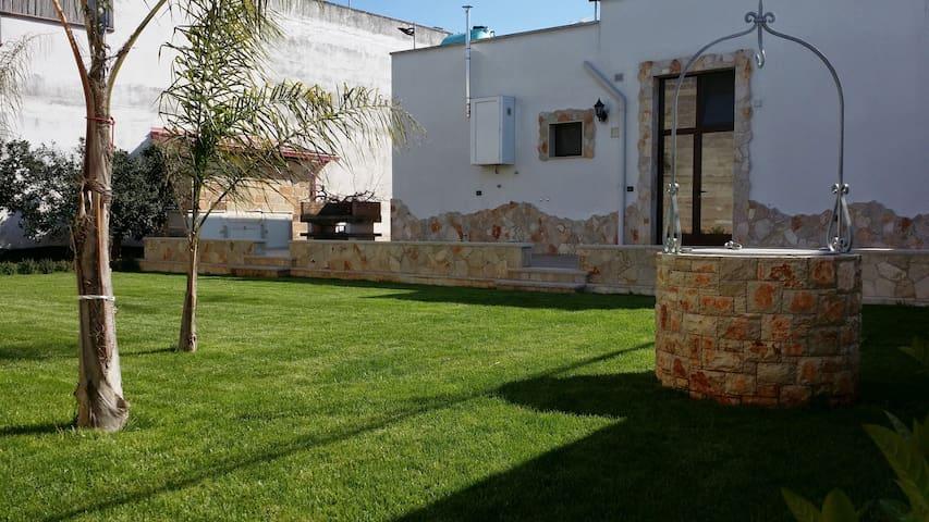 Villa con ampio giardino vicino al mare - Copertino - Vila