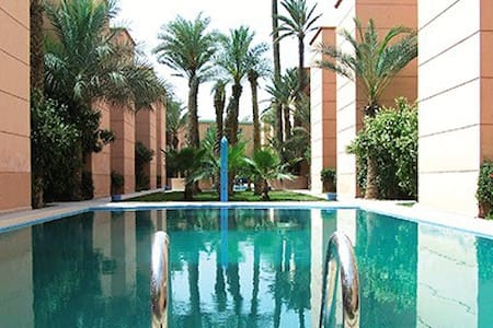 Beau Riad a Marrakech.Wifi.piscines. - Marrakech - House