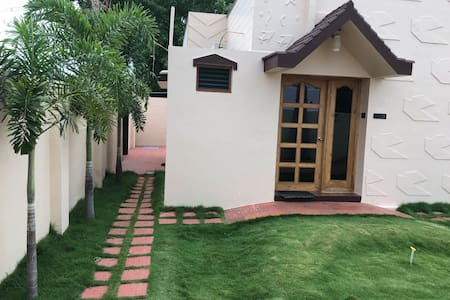Grace Residency @ Park Town in Madurai.(Lawn View)