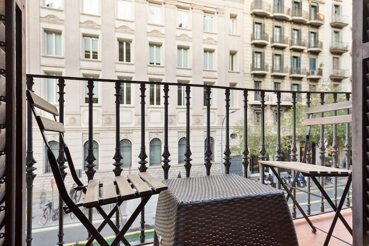 BARCELONA | PERFECT BALCONY| CITYCENTER| COMFORT¤