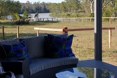 Farm Stay, Moggill, Brisbane - Alpaca Cottage