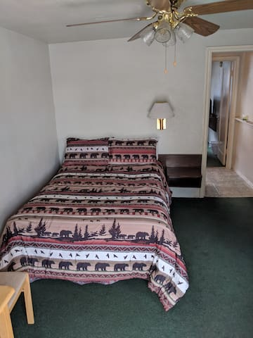 2 bedroom Mountain town motel room.