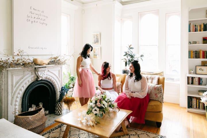 Historic Melville Mansion –Wedding Prep Rental