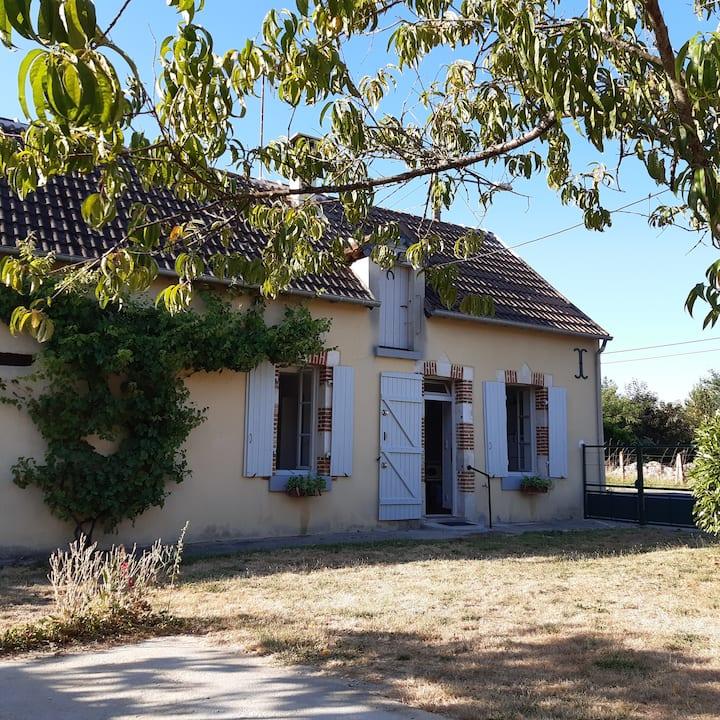 Maison ancienne à Rosnay
