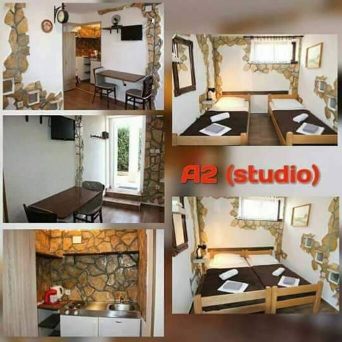 Apartman lovre pag studio suite degli ospiti in for Suite suocera in affitto vicino a me