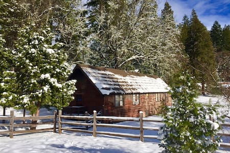 "Crater Lake ""Bunkhouse"" on 100 acre ranch & trails - Prospect"
