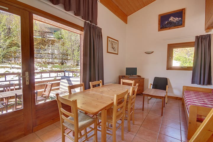 APARTMENT CLOSE TO THE SKI LIFTS - WIFI - MORZINE - 7 PEOPLE - JOUX 7