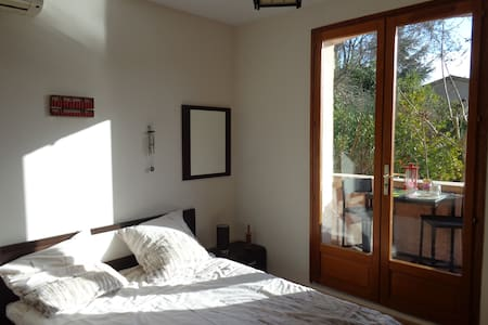 """Private bedroom """"Zen"""" on your private 1st floor - Pégomas - Andre"""