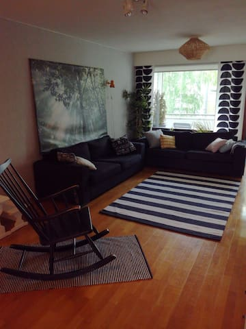 Large flat in the city centre
