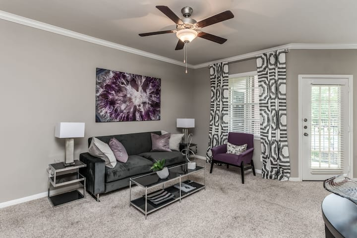 Sparkling clean apartment home   2BR in Houston