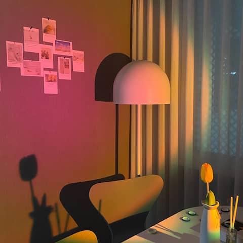 [번화가 아파트숙소 1a.m입니다🙋♂️] 넓고 쾌적한 공간에서 새로운 설렘을 만들어요✨