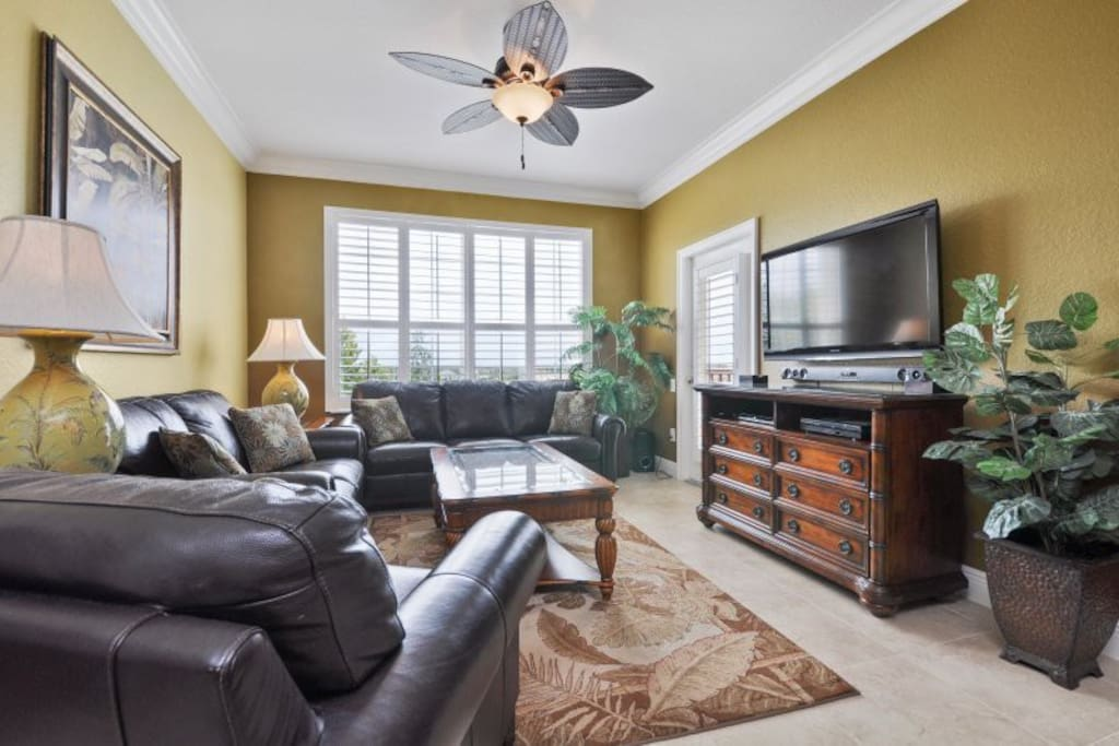 This oversized condo offers plenty of open space
