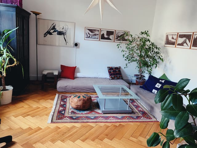 Magic Apartment close to City Center with Garden
