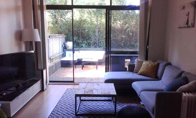 Private & peaceful townhouse near Macquarie Uni - Marsfield - Adosado