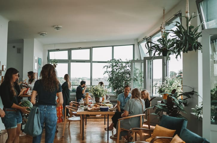 Loft Aparment with Spectacular View of Kraków
