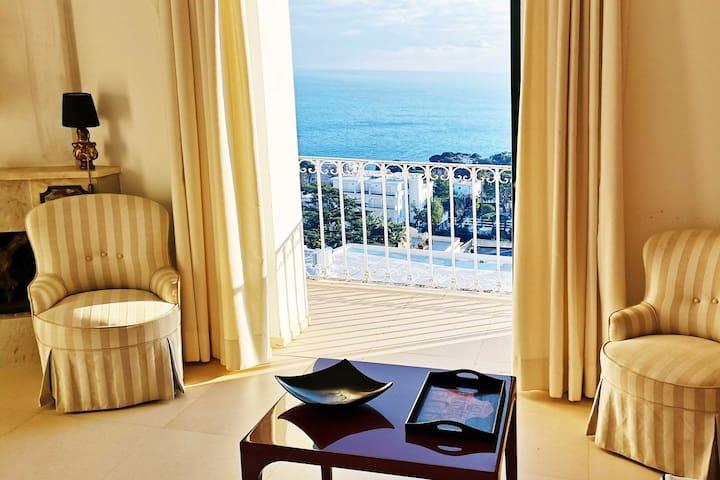 capri seaview & elegant apartment