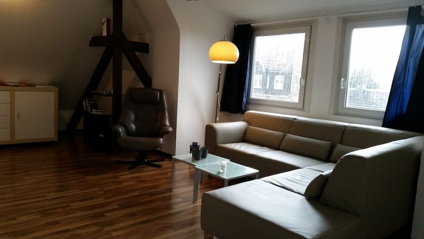 Guestroom with TV and wireless internet - Solingen