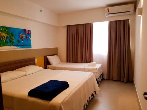 Apartamento para 6 pessoas - Olímpia Park Resort