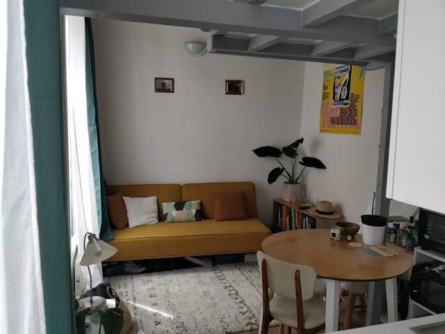 Cabane cosy sous les toits du 11ème arrondissement