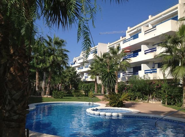 Costa Blanca. Sea view apartment. Swimming pool